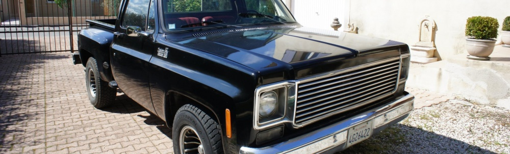 mon chevy c10 stepside de 1978. Black Bedroom Furniture Sets. Home Design Ideas