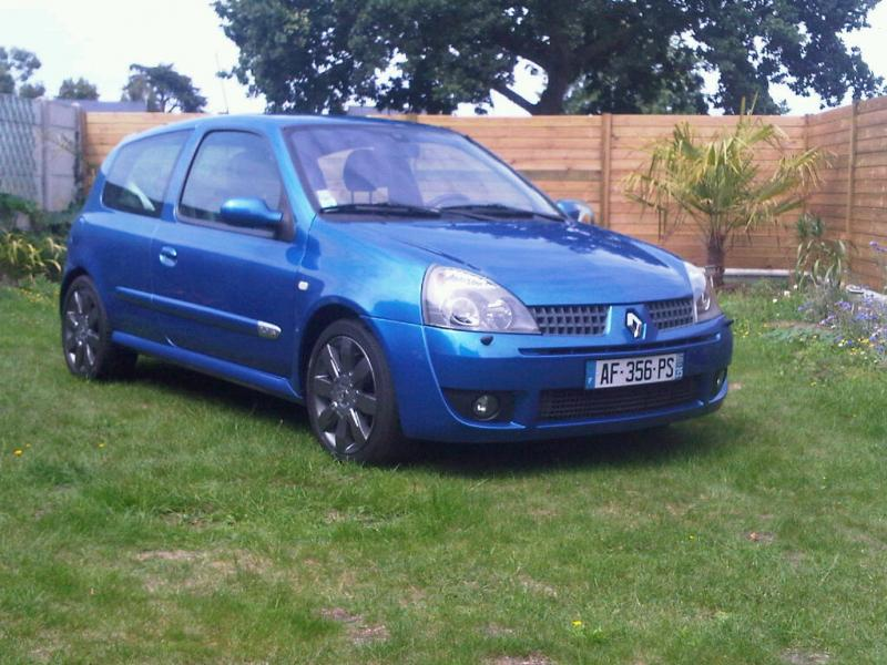 clio 2 rs 2004 phase 3 chassis sport pr sentation clio clio rs renault forum marques. Black Bedroom Furniture Sets. Home Design Ideas