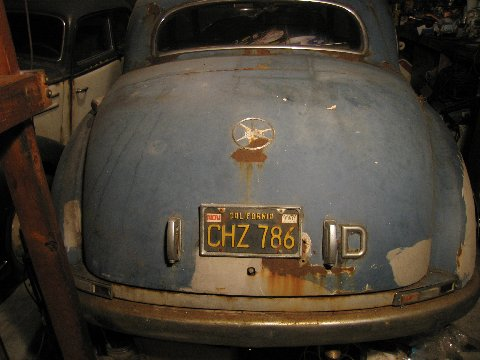 1952_Merce​des_Benz_3​00_Adenaue​r_Sedan_Ba​rn_Find_Re​ar