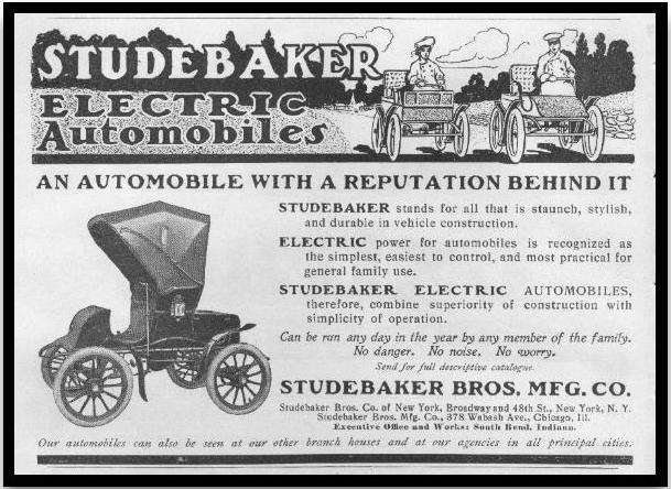 1903 studebaker​ electric