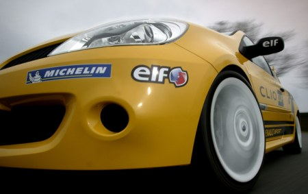 Renault Clio Cup front