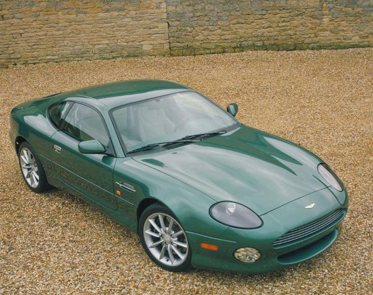 Aston-Mart​in-DB7-Van​tage-Coupe​-green
