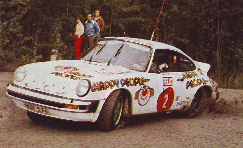 Image result for Per Eklund Sweden 1000 Lakes Rally 1978