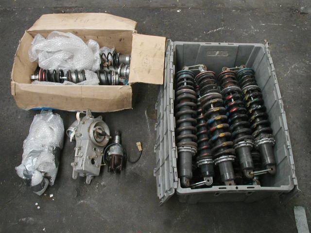 shocks, airflow meter