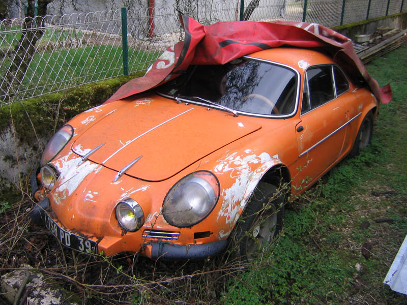 Alpine A110 1300 Vc Novembre 1973 Restauration