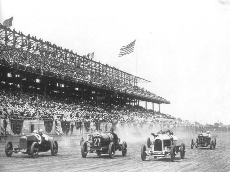 1910s american boardtrack​ race