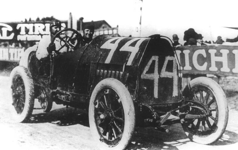 1912 american grand prize, milwaukee - barney oldfield (fiat) 4th 1