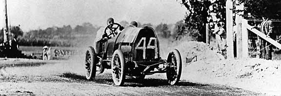 1912 american grand prize, milwaukee - barney oldfield (fiat) 4th 2