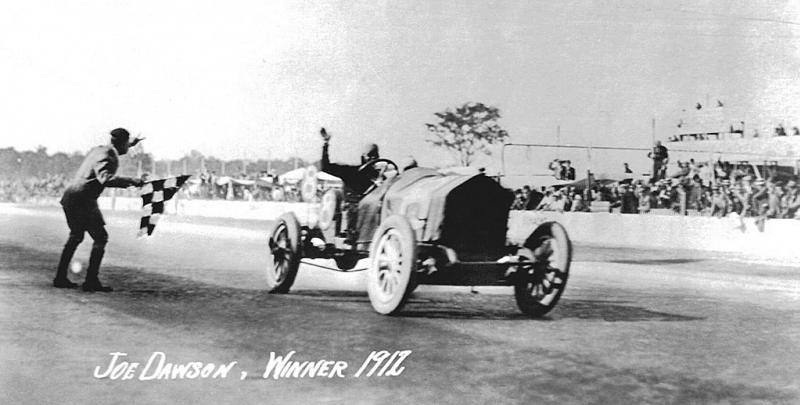1912 indy 500 - joe dawson (national)​ 1st 4