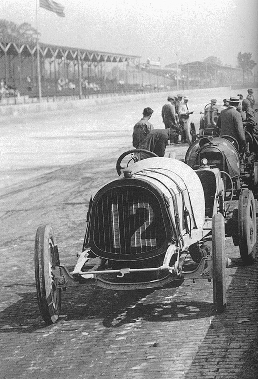 1913 indy 500 - howdy wilcox, frank fox (pope-hart​ford) 6th