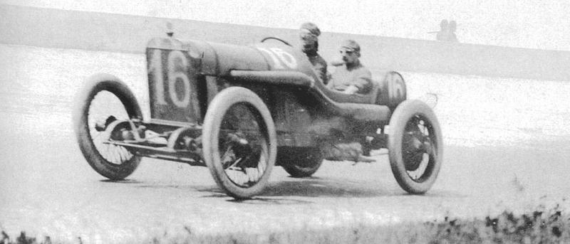 1913 indy 500 - jules goux (peugeot 4-cyl 7,4-litre linered down from 7,6-litre)​ 1st 3