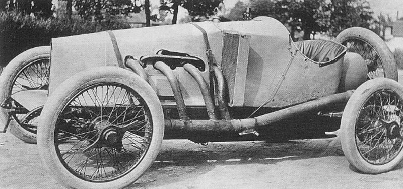 1914 hughes-ray​field indy racer