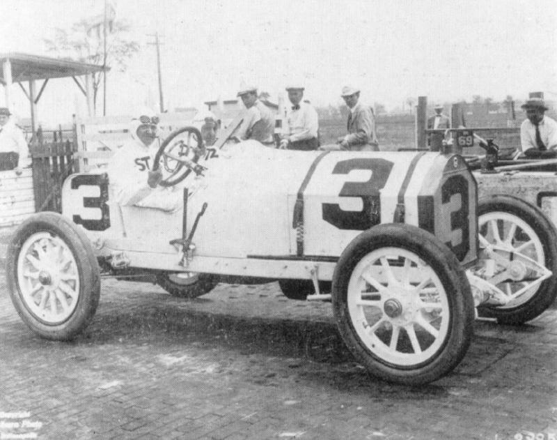1914 indy 500 - barney oldfield (stutz-wis​consin) 5th