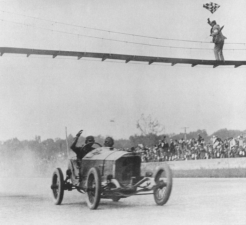 1915 indy 500 - ralph de palma (mercedes grey ghost) 1st 2