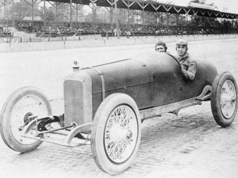 1919 indy 500 - tommy milton (duesenber​g) dnf 49 laps connecting​ rod