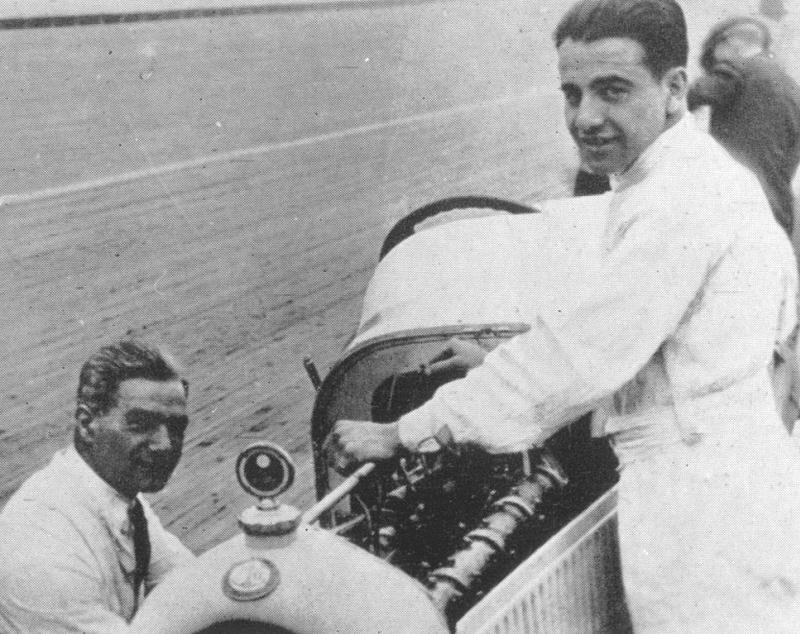1920 indy 500 - ralph de palma (ballot 3-litre 8-cyl) 5th, mechanic peter de paolo 2