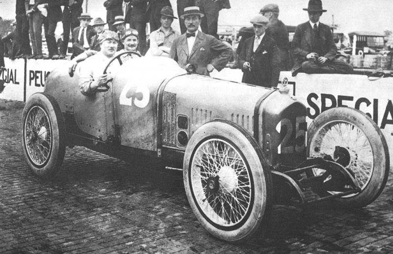 1920 indy 500 - rene thomas (ballot) 2nd