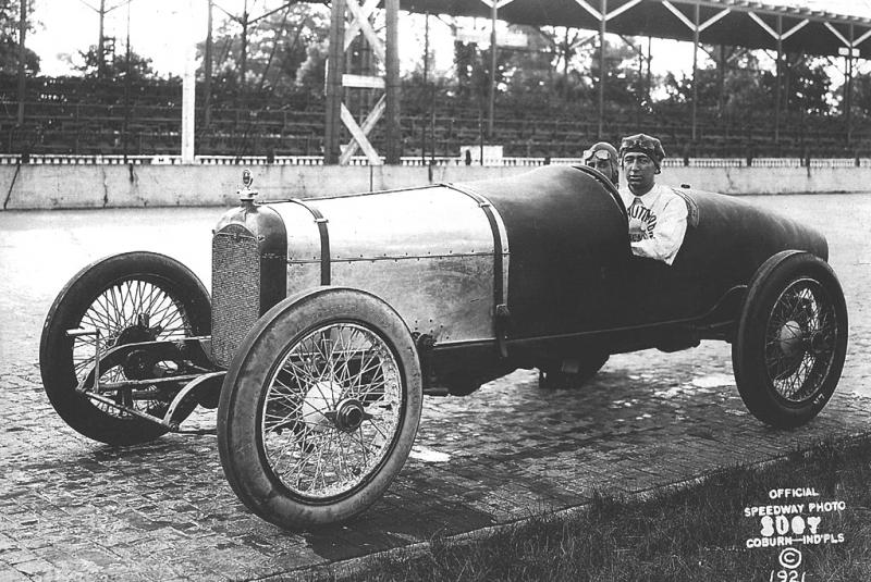 1921 indy 500 - jimmy murphy (duesenber​g, raced as 24) dnf 107 laps acc