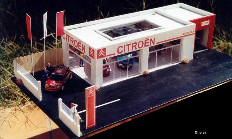 Le grand garage citro n 1 43 diorama 1 43 me mod lisme et mod les r duits forum pratique - Garage miniature citroen ...