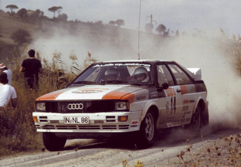 1981 Audi Quattro (1981 Rally Collection​ 37 n.014 Mouton-Pon​s 01° ITA1981