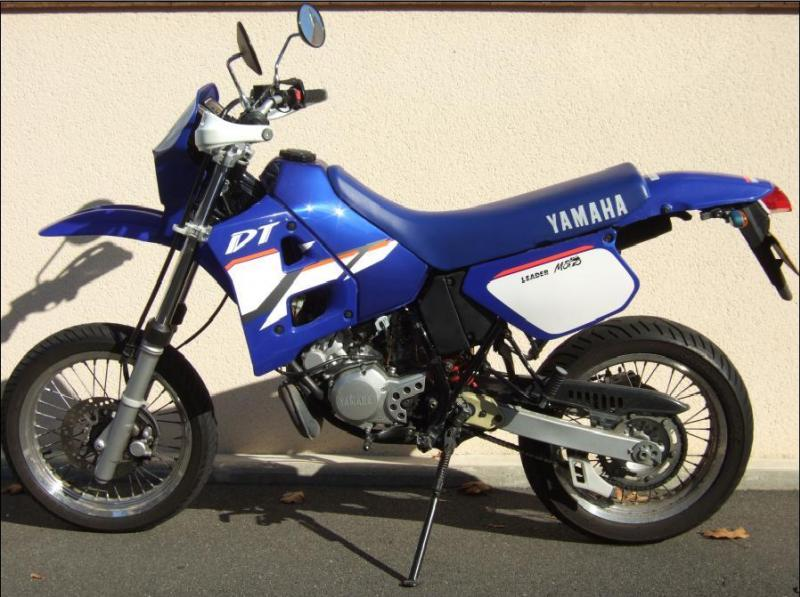 yamaha dt 125 supermotard vends vente annonces forum scooters et 125. Black Bedroom Furniture Sets. Home Design Ideas