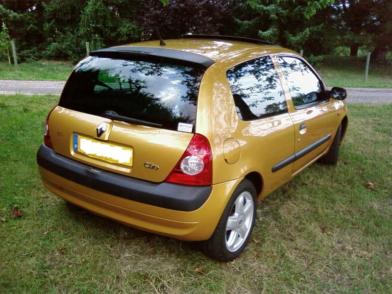 renault clio ii 2 1 4 16v dynamique presentation clio clio rs renault forum marques. Black Bedroom Furniture Sets. Home Design Ideas