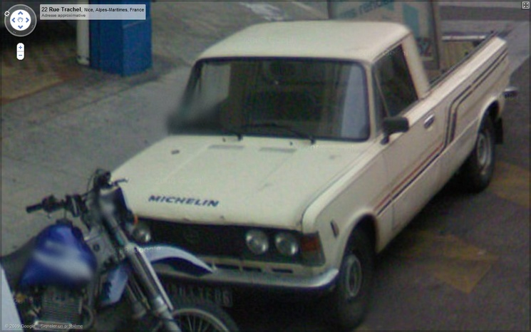 39) FSO 125 Pick-up sur Street View