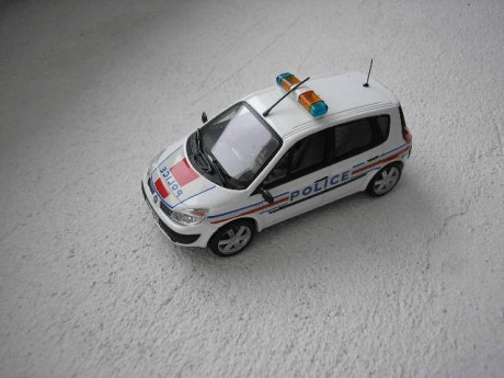 Renault Scenic 2003 police
