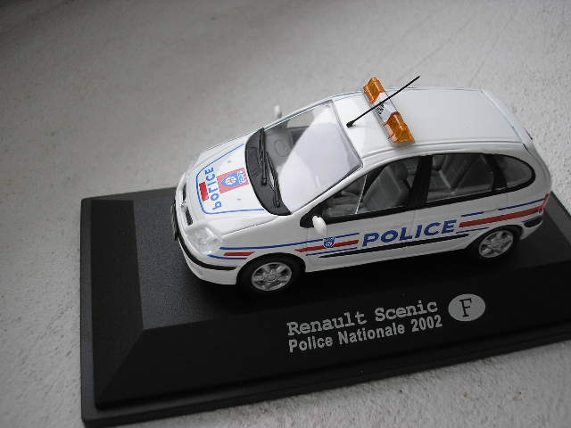 Renault Scenic Police Nationale F 2002