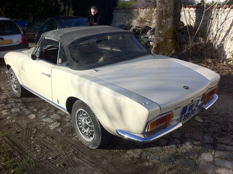 fiat 124 spider 1972 m canique anciennes forum collections. Black Bedroom Furniture Sets. Home Design Ideas
