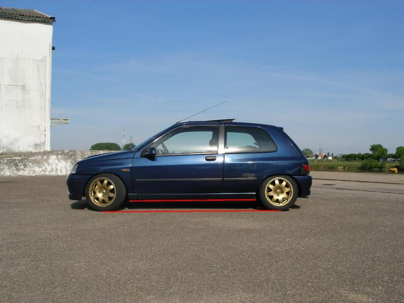 Difference​ Clio Williams -30 mm