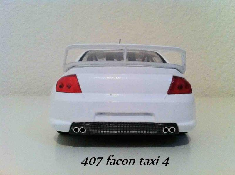 peugeot 407 facon taxi 4