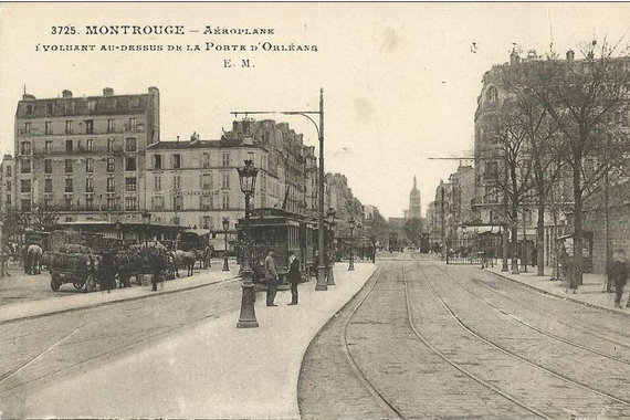 montrouge porte orleans tramways