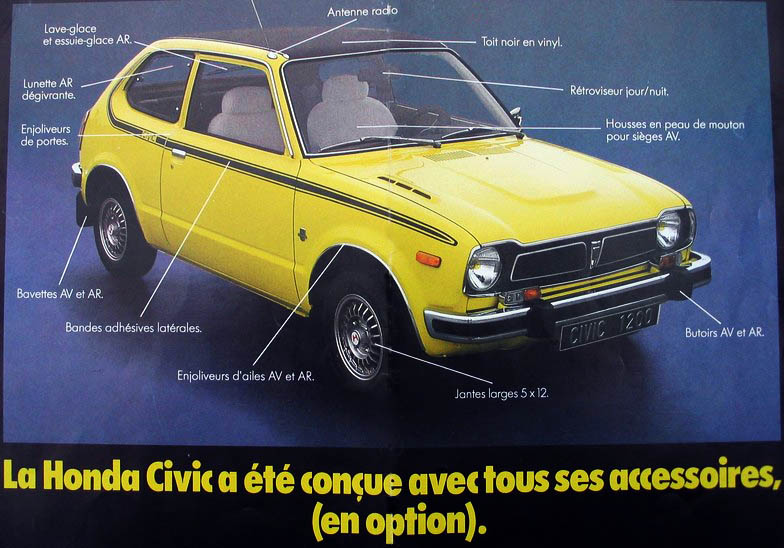 honda civic sb2 1977 restaurations anciennes forum collections. Black Bedroom Furniture Sets. Home Design Ideas