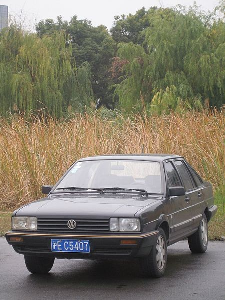 450px-Chinese_VW_Santana_sedan