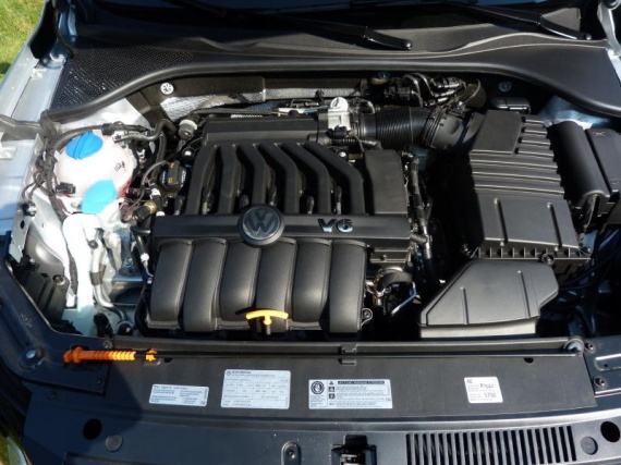 Passat-V6-engine