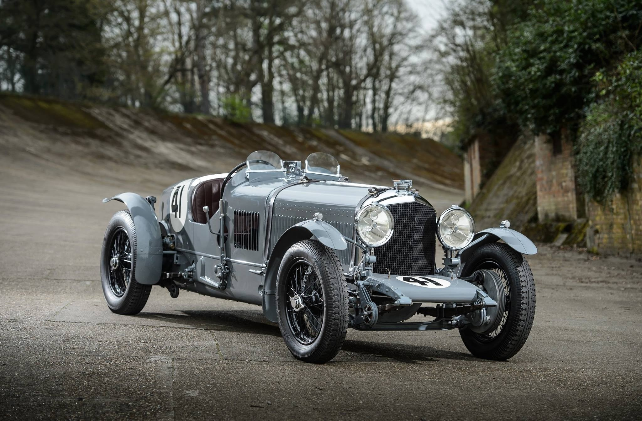 Derek Bell Bentley Old Number One