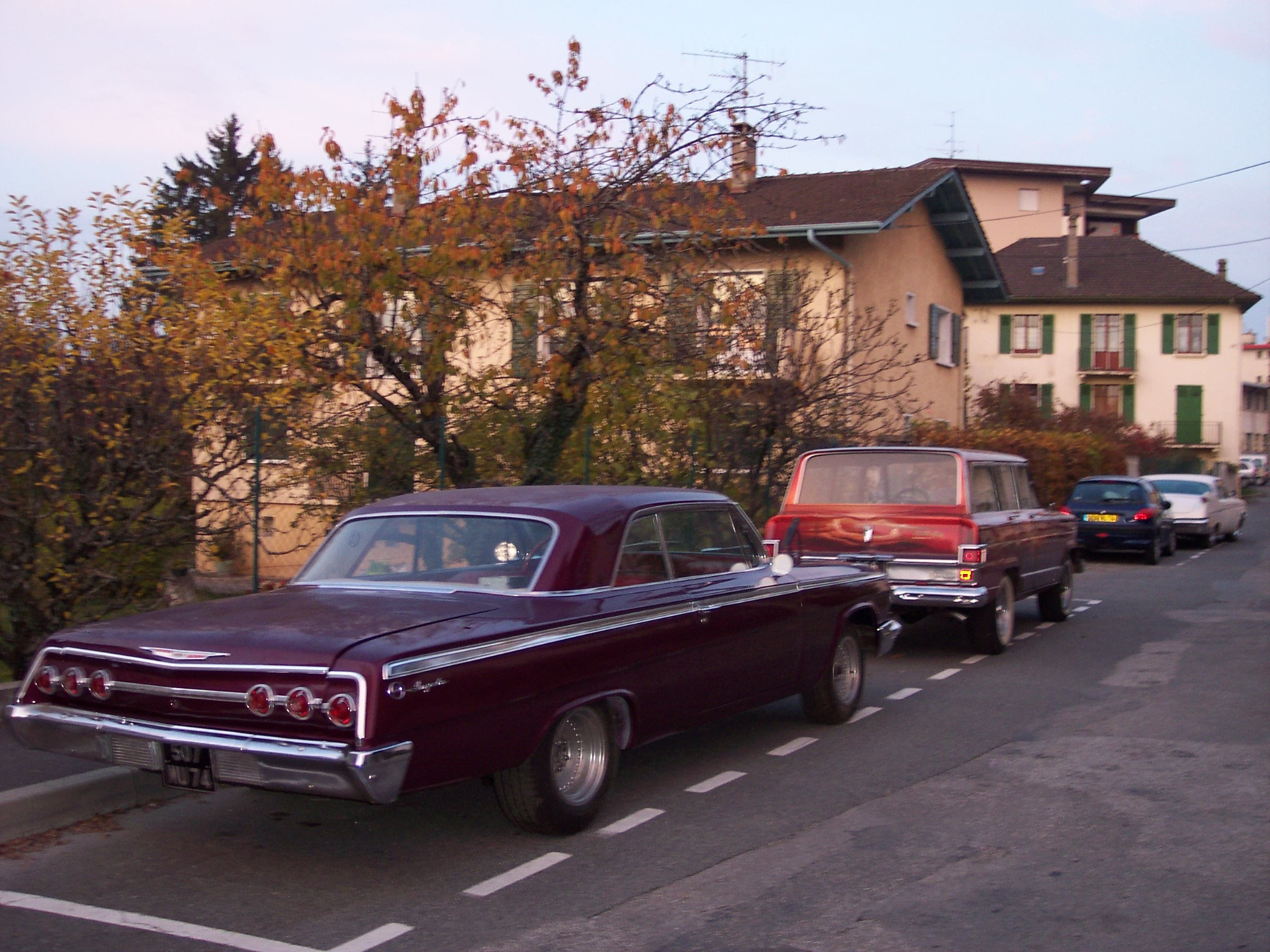 chevy 62 et imperial 128