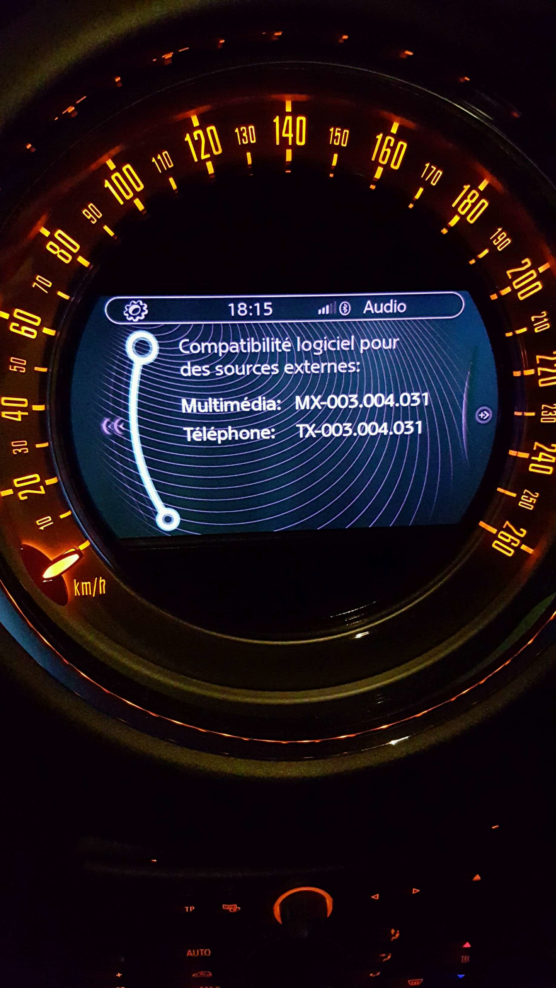 Mise à jour bluetooth Mini Countryman