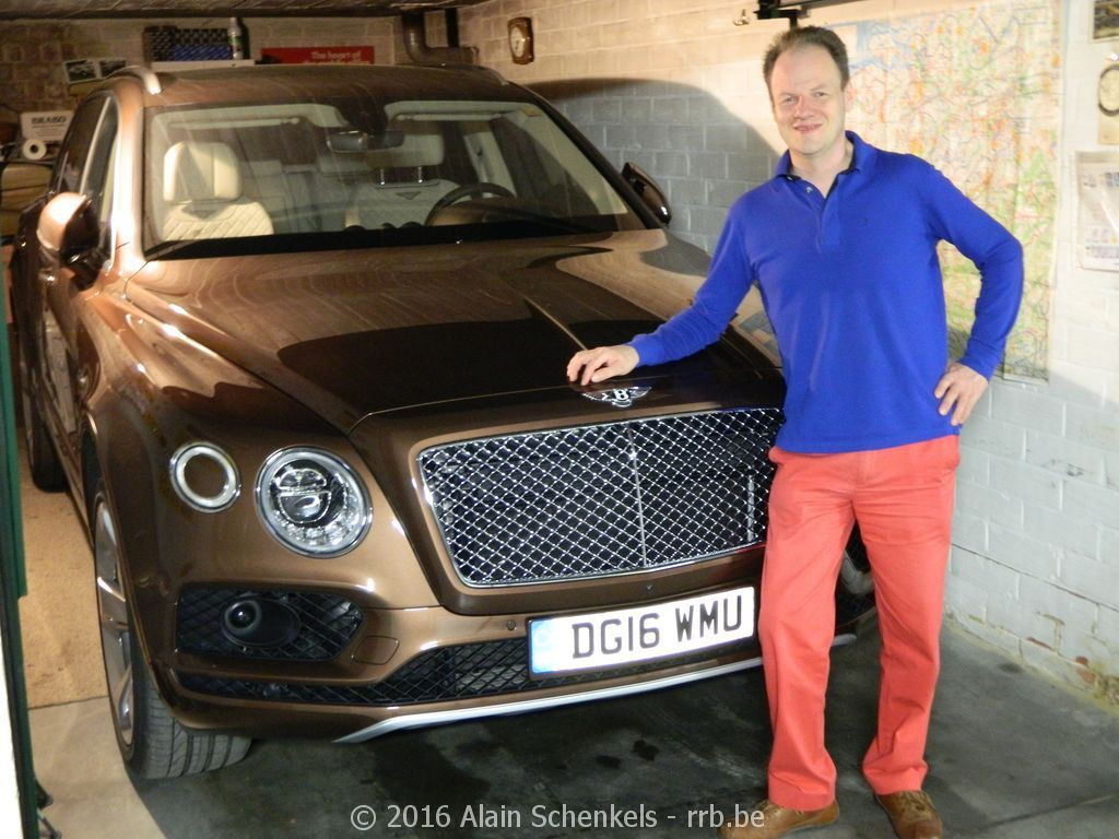 Test sur route Bentley Bentayga