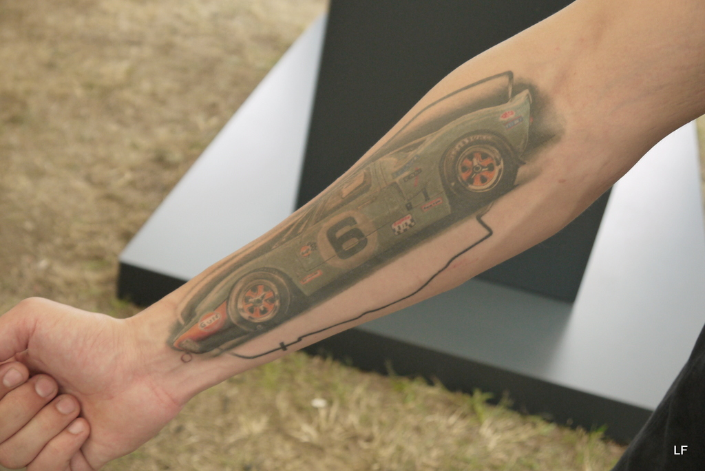 If he sells his GT, he must sell his arm with.
