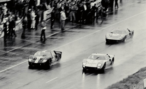 Finish of the 1966, 24 heures du Mans