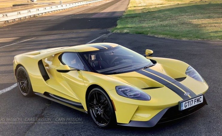 Ford-GT-2017-test-supercars-yellow-960x500