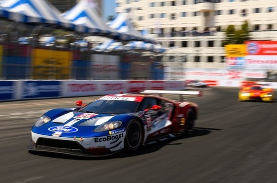 LONG BEACH GRAND PRIX  April 14 : The Ford GT finishes 2nd and 3rd.