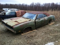 1969 Charger RT SE 440ci (rusted) (2)