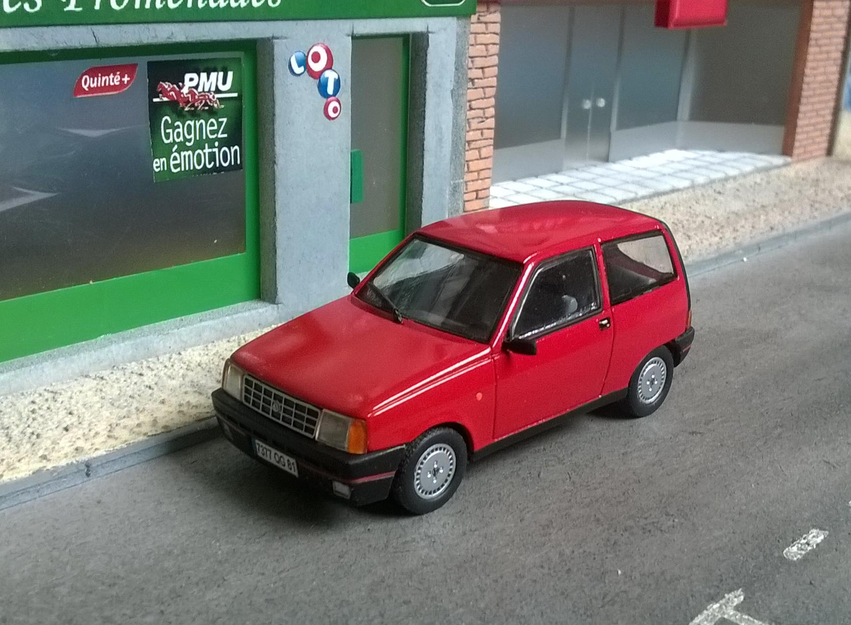 AUTOBIANCHI Y10 Turbo base Starline