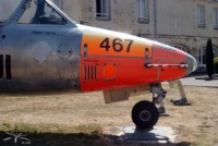 Fouga-Magister_Rochefort_nez_cote