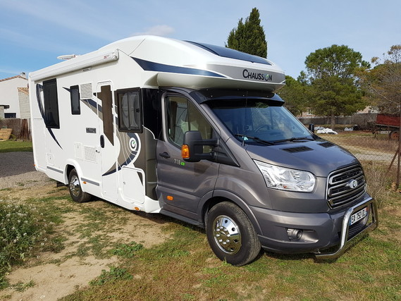Camping-car Ford chausson
