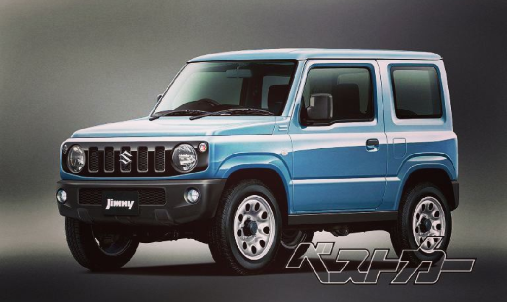 suzuki jimny iv 2018 topic officiel page 3 jimny suzuki forum marques. Black Bedroom Furniture Sets. Home Design Ideas