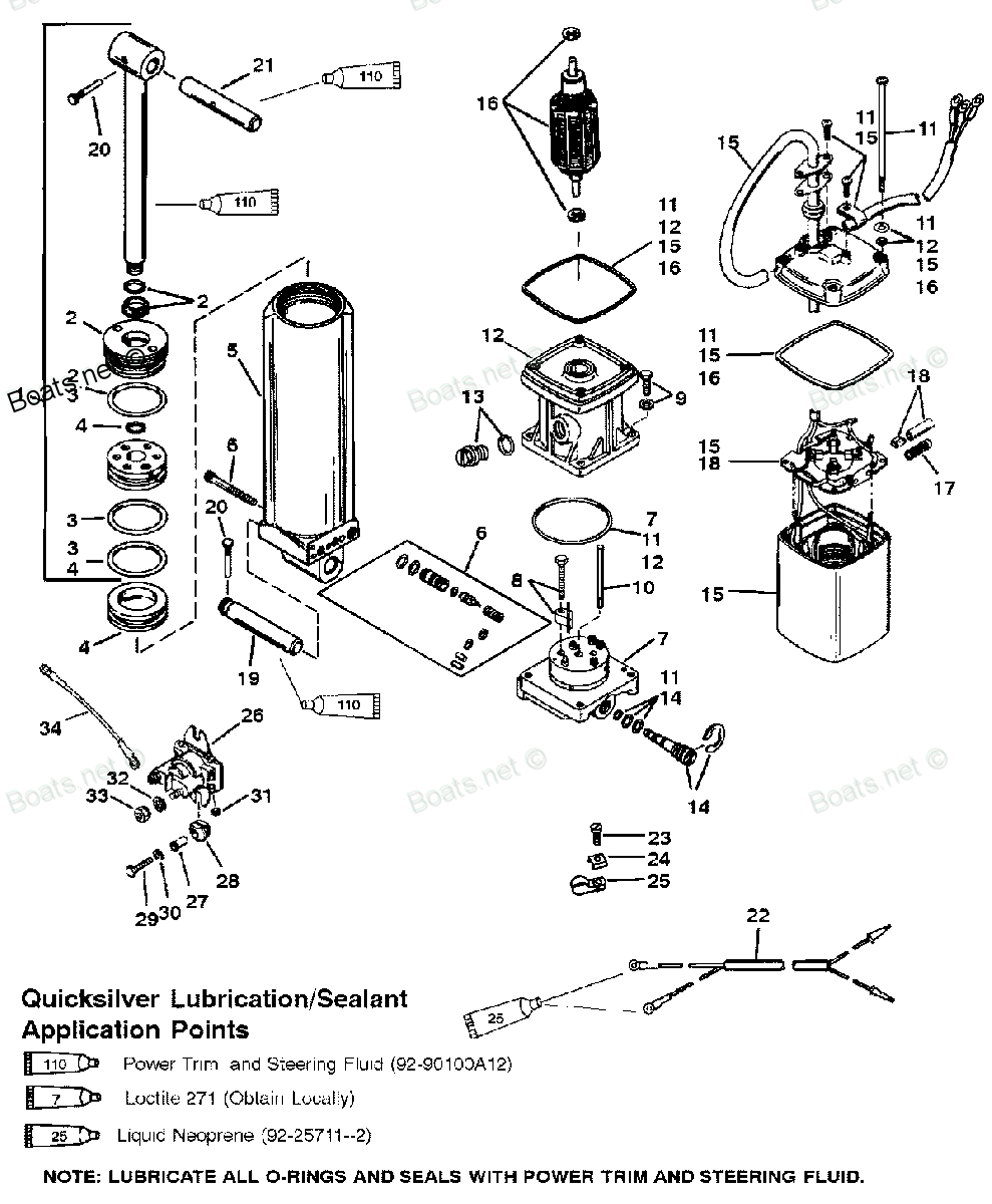 Mercury Verado Power Steering Manual With Battery Wiring Diagram Kicker